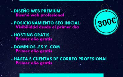 Oferta Diseño web. Marzo